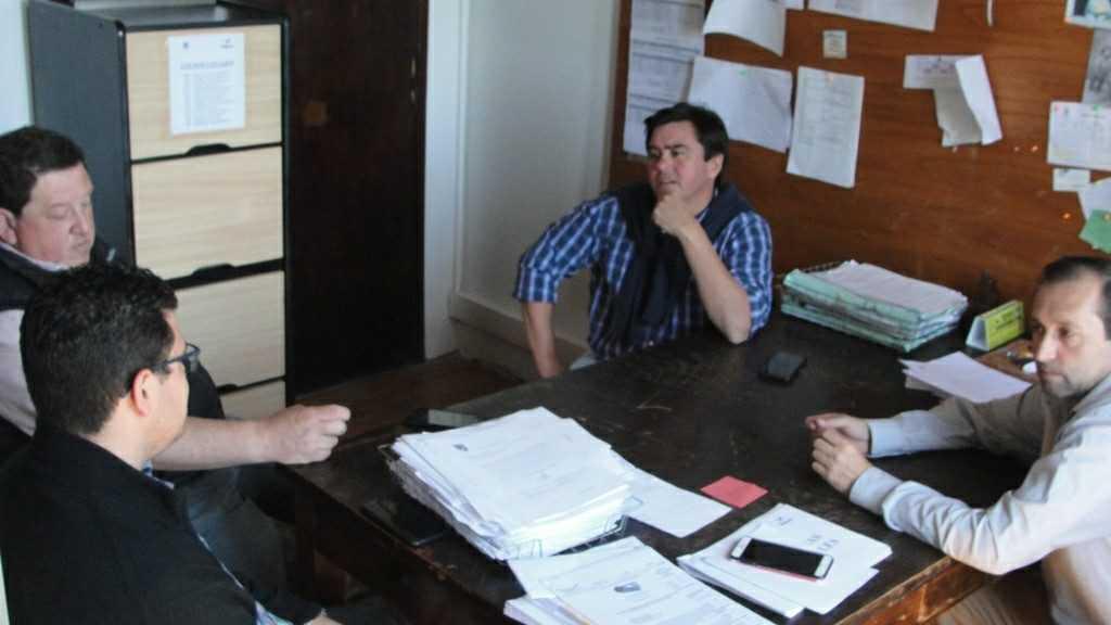 Funcionarios de Ayacucho se reunieron con autoridades de Balcarce
